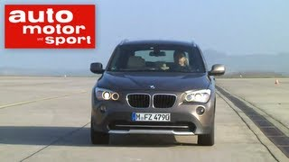 Einzeltest BMW X1 xDrive 20d