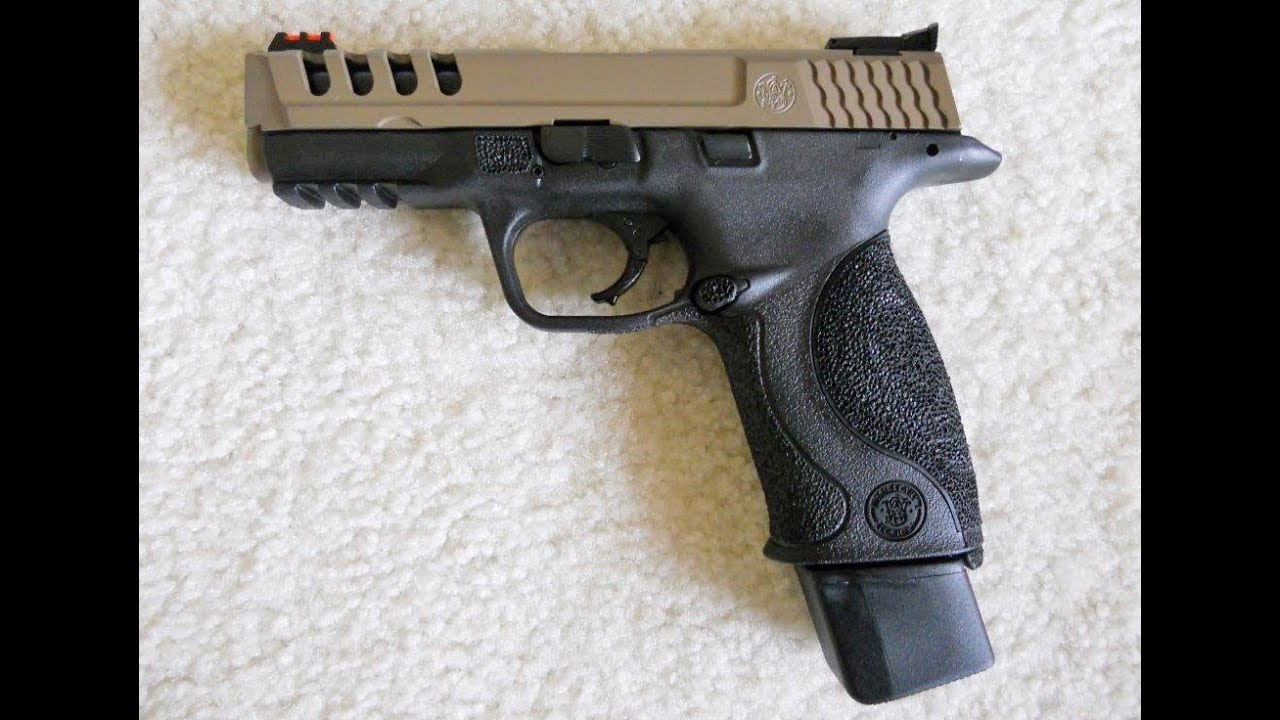 Smith wesson m p 9mm project youtube for M p ported core 9mm