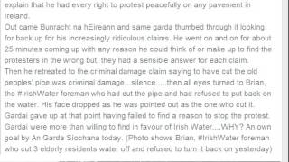 Constitution supports Water Meter Protesters Irish Water embarassed