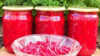 Салат из свёклы на зиму   Заготовки на зиму Семья Булатовых