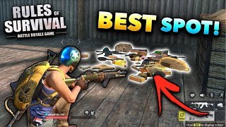 Rules of Survival BEST Loot Spots!! (Tips and Tricks)
