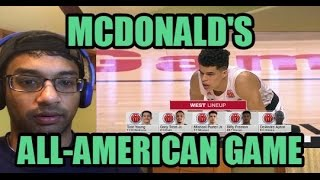 McDonald's All-American Game HIGHLIGHTS (REACTION)- MICHAEL PORTER JR AND THE BEST HIGH SCHOOLERS!