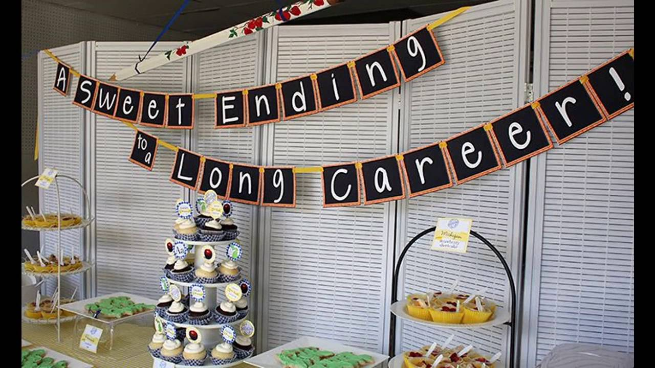 Office party themed decorating ideas - YouTube