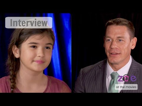 "John Cena in ""Zoe at the Movies""! INTERVIEW"