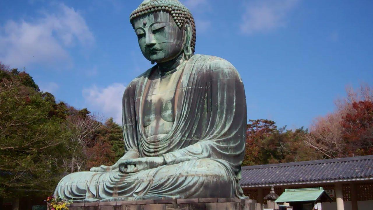 Buddha Wallpaper 8k: Kamakura Daibutsu (Great Buddha 大仏), Kamakura, Japan