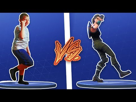 1 KILL = 1 FORTNITE DANCE FOR JAYDEN! 9 YEAR OLD BROTHER PLAYS SOLO! DANCE CHALLENGE IN REAL LIFE!