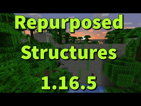 1.16.3---repurposed-structures-mod-review---installation-and-gameplay-for-minecraft