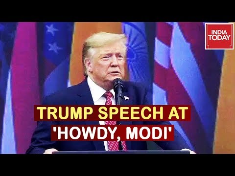 Donald Trump Speech At 'Howdy, Modi' Event In Houston | Watch Video