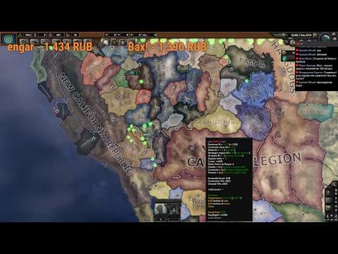 Hearts Of Iron IV   обзор отличного мода по вселенной Fallout (Old World  Blues)   Самые лучшие видео