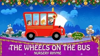 Wheels on the bus Christmas Special | Christmas Children Songs | Christmas Songs for Kids