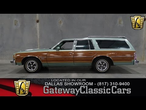 1977 Pontiac Grand Safari Stock #143 Gateway Classic Cars Of Dallas