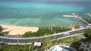 沖縄 カフーリゾートフチャク コンド・ ホテル客室からの眺め