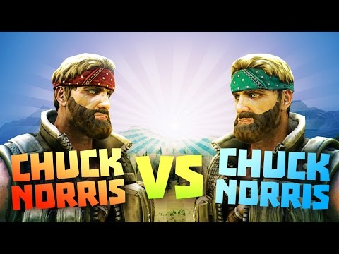 CHUCK NORRIS vs CHUCK NORRIS - Ultimate Epic Battle Simulator Game - Let's Play UEBS Game (like TABS