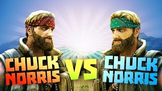 CHUCK NORR S Vs CHUCK NORR S   Ultimate Epic Battle Simulator Game   Lets Play UEBS Game Like TABS