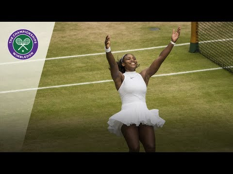 All 100 Wimbledon Championship points from the Open era