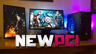New PC Unboxing + Gameplay: Cyberpower Gaming Armour Elite GeForce GTX 660