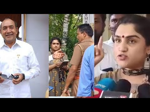 Vanitha Vijayakumar fight with Father Vijayakumar |சொத்து தகராறு  போலீஸ்ளுடன்  வாக்குவாதம்  nba24x7