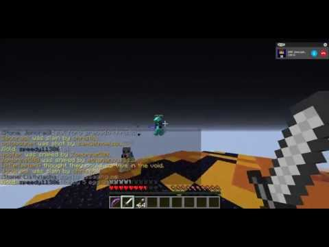 Hacker Cubecraft//christio// Hacking on PvP//Fly, killaura 1.11