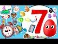اناشيد الروضة - تعليم الاطفال - المجموعة (7) الوان - لعبة التطابق- نطق الحروف - اداب الطعام - الوقت