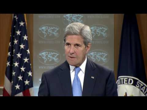 Secretary Kerry's Remarks before the Daily Press Briefing