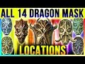 Skyrim All 14 Dragon Priest Mask Locations In Special Edition DLC Dragonborn TOP 10 Best Masks mp3