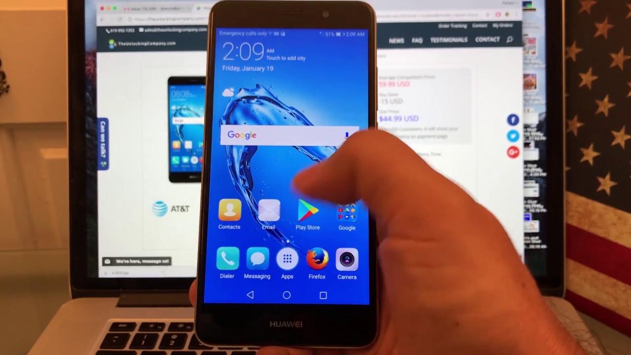 AT&T PREPAID Huawei Ascend XT2 - Unlock via Code