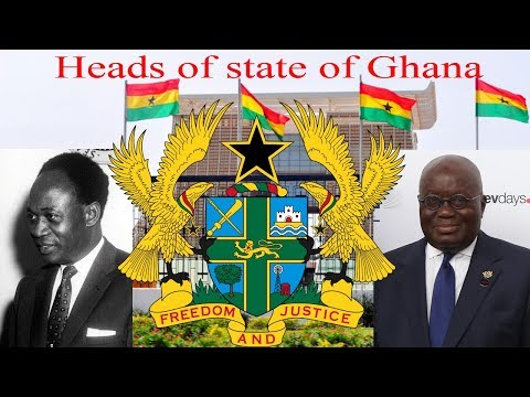Heads of state of Ghana