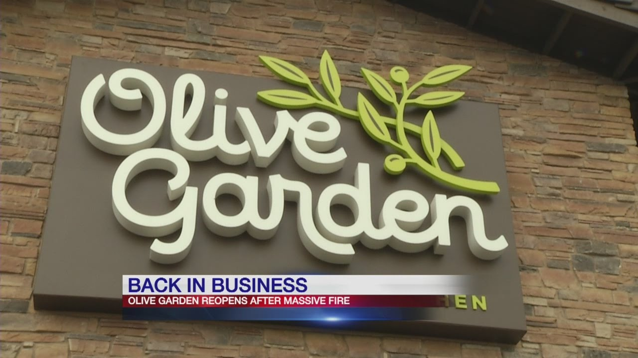 Blasdell olive garden opens its doors again youtube What time does the olive garden close