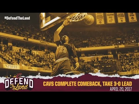 """Higher"" - Cleveland Cavaliers 2017 NBA Playoffs"
