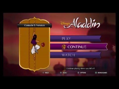 Disney Classic Games: Aladdin and The Lion King Aladdin Vs Jafar Final Battle Hard Diffyculty |