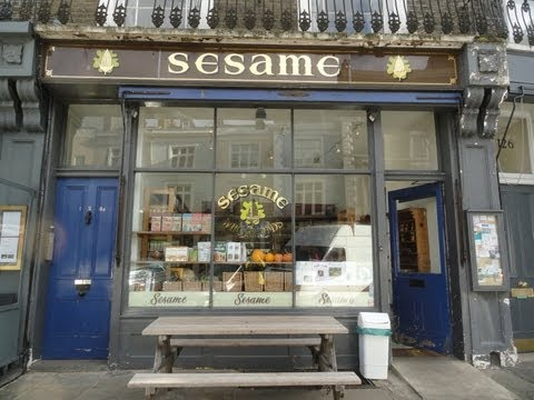 Sesame, Organic Wholefood Store, Primrose Hill, London: 1983 to 2012 - R.I.P.