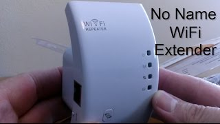 Wireless-n WiFi Repeater / WiFi Extender - WiFi Repeater router, Setup & Review - No Name