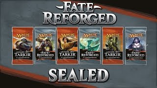 Fate Reforged: Sealed Deck Opening & Building (1080p)