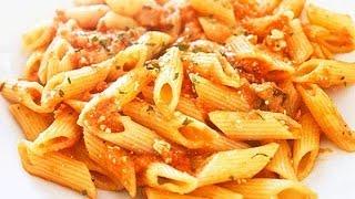 Cocinar Pasta  en Salsa de Tomate  (Facil y Practico)