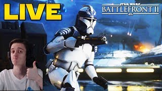 Testons la MAJ & le Système d'Escouade! | LIVE BFFR Star Wars Battlefront 2