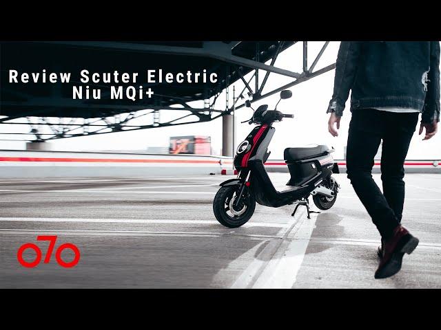 Review Scuter Electric Niu MQi+