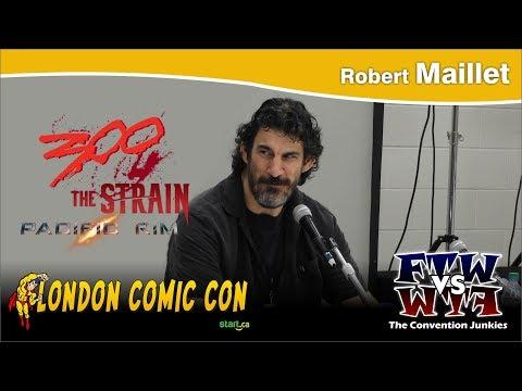 Robert Maillet (WWE, 300, The Strain, Pacific Rim) London Comic Con 2017 Q&A Panel