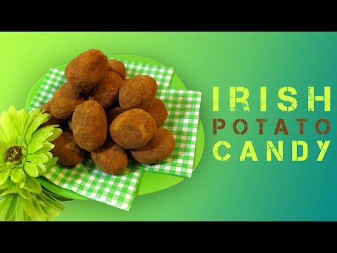 IRISH POTATO CANDY - ST-PATRICK'S DAY TREATS