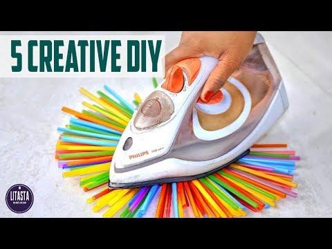 5 Ide kreatif yang wajib ditonton | Kreatif DIY