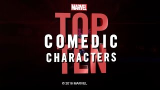 Marvel Top 10 Comedic Characters