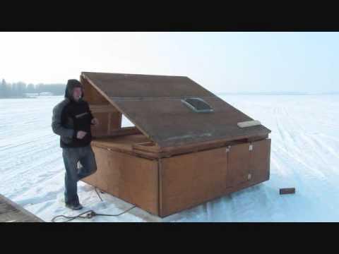 Diy portable fish house