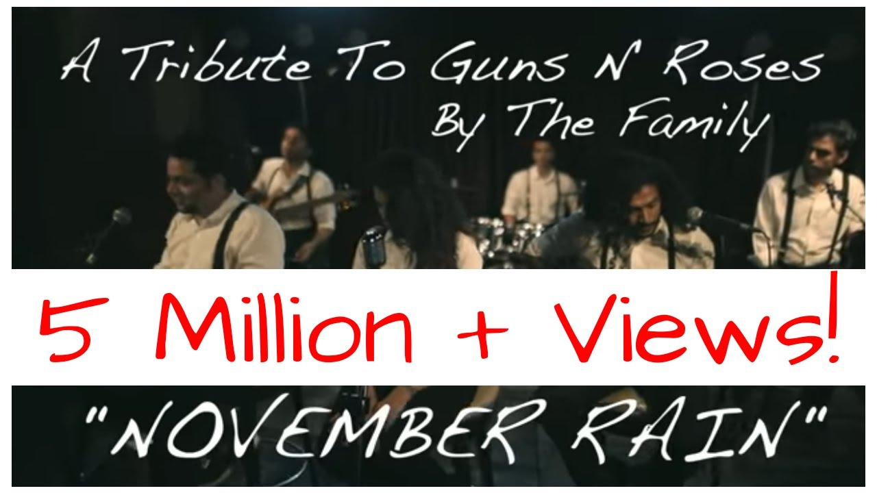november rain lyrics video
