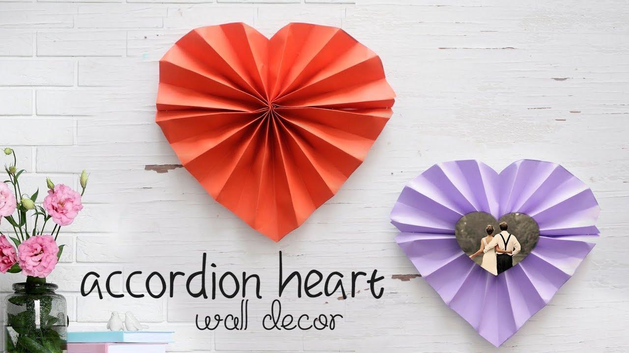 Heart Wall Decor! - YouTube