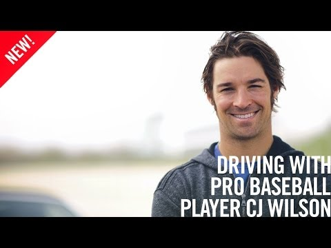 CJ Wilson On Cars, Racing, and Baseball