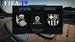 Download Video FIFA 19  - Modo Carrera - Real Sociedad vs. Fc Barcelona @ Estadio de Anoeta MP3 3GP MP4