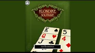 Klondike Solitaire - Gameplay