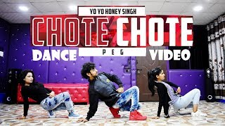 Chhote Chhote Peg Maar Dance Video | Yo Yo Honey Singh | Choreography | Cover by Ajay Poptron