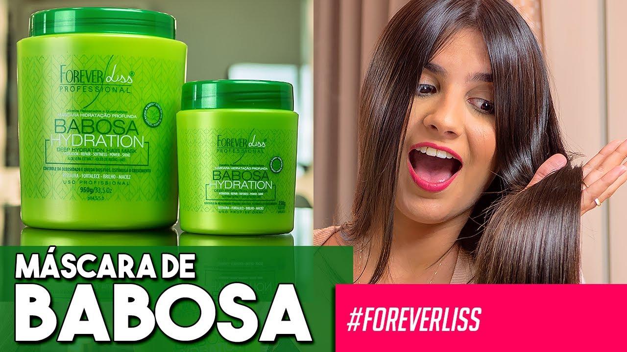 TUTORIAL: Máscara de Babosa Hidratação Profunda Forever Liss - YouTube