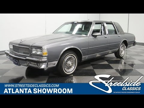 1990 chevrolet caprice brougham ls for sale 4806 atl youtube 1990 chevrolet caprice brougham ls for