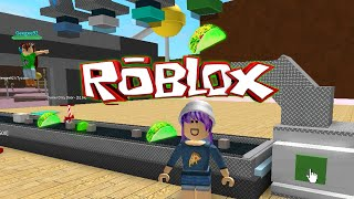ROBLOX CANDY FACTORY TYCOON | GLOWING GREEN TACOS!